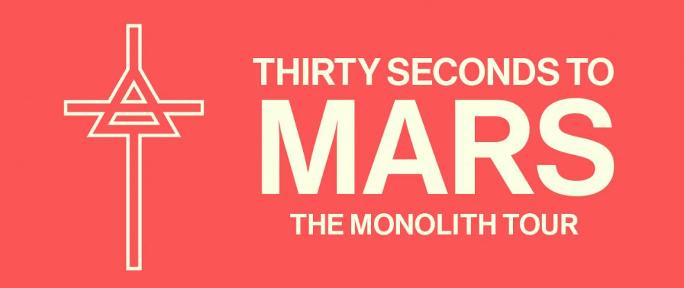 Thirty Seconds To Mars Announces 'Monolith Tour'