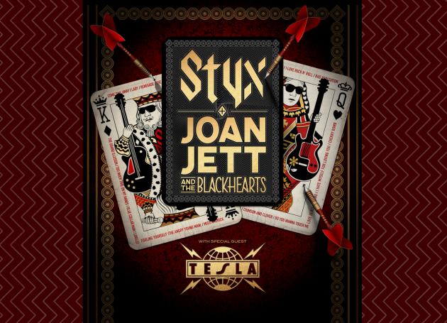 Styx, Joan Jett & The Blackhearts Co-Headline Summer Tour