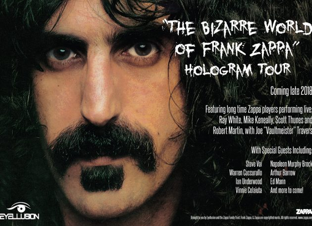 The Mothers Sign On For Frank Zappa's Hologram Tour