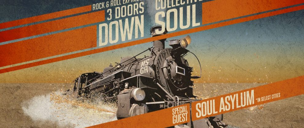 Collective Soul, 3 Doors Down, Soul Asylum Hit The Road Together