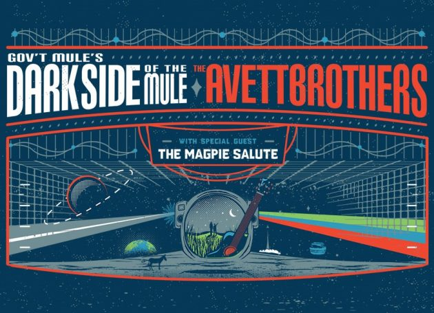 The Rarely Seen 'Dark Side Of The Mule' On Tour With Avett Brothers