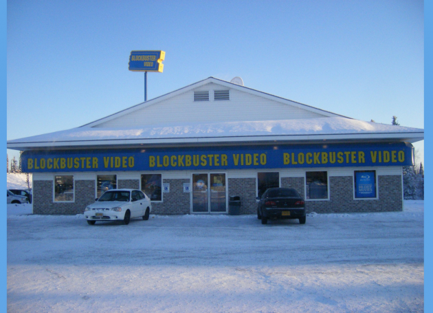 Blockbuster Video At North Pole, One Of The Country's Last, Shutters