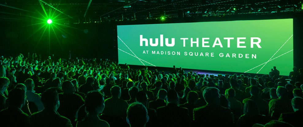 Hulu Strikes A Naming Rights Deal With MSG