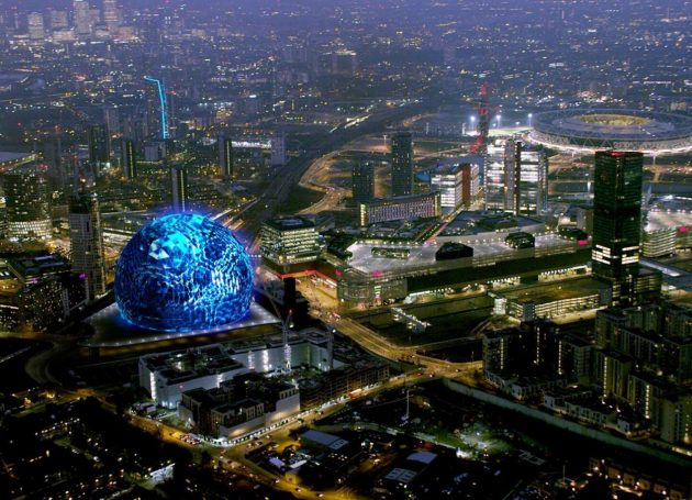 Details Of 'MSG Sphere' Revealed In London