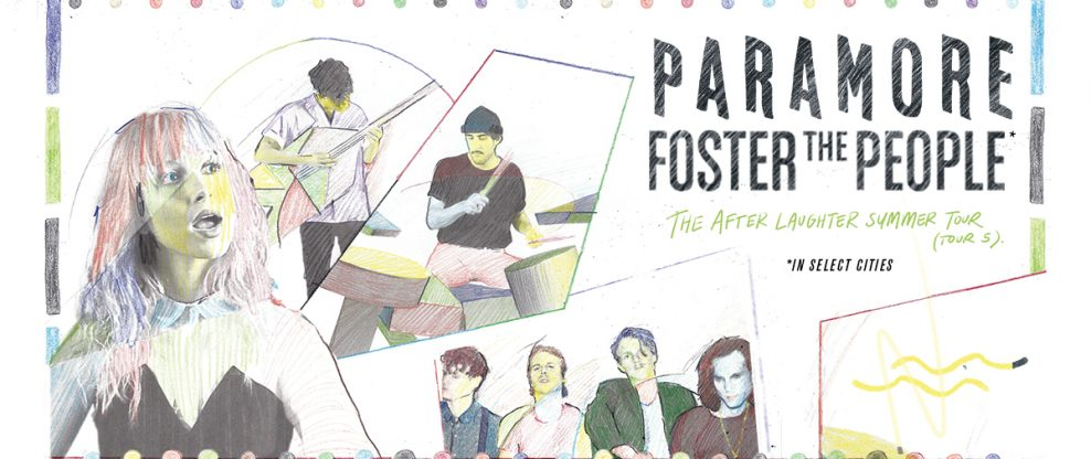 Paramore With Foster The People Launch North American Tour