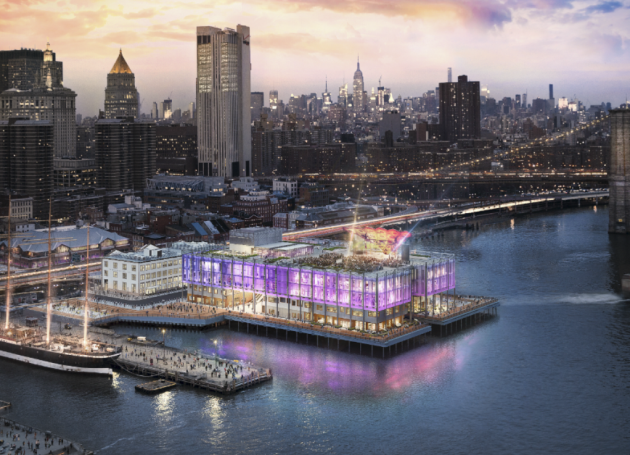 Live Nation To Program NYC's New Pier 17 Entertainment Center