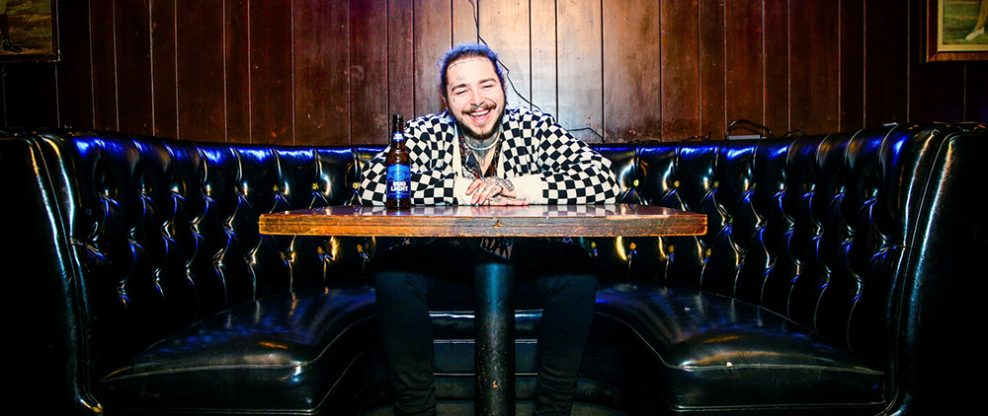 Post Malone Proudly Wears His Crocs
