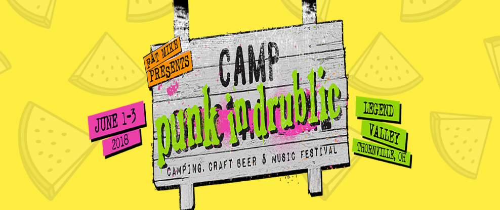 Fat Mike Introduces The 'Camp Punk In Drublic' Festival / Drinking Competition