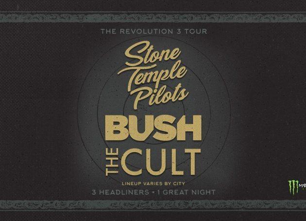 Stone Temple Pilots, Bush & The Cult Announce The 'Revolution 3' Tour