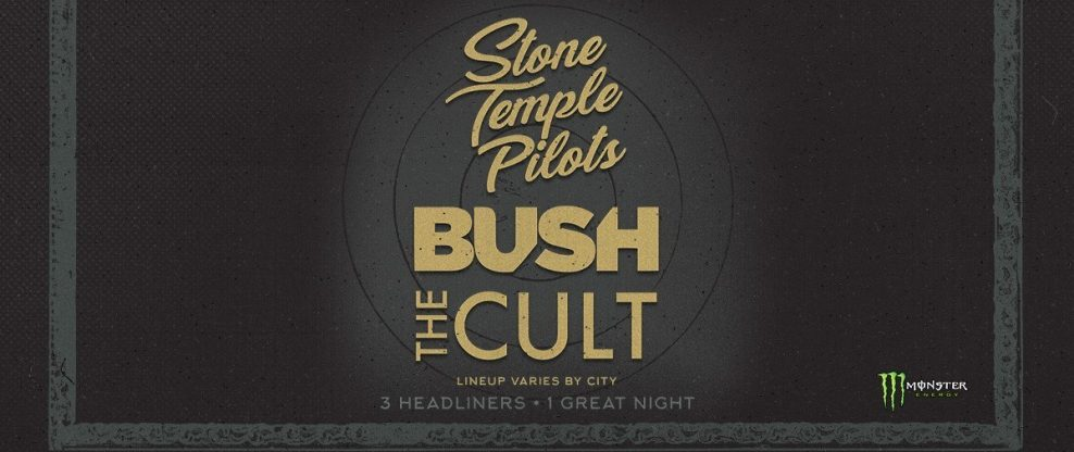 Stone Temple Pilots, Bush & The Cult Announce The 'Revolution 3' Tour