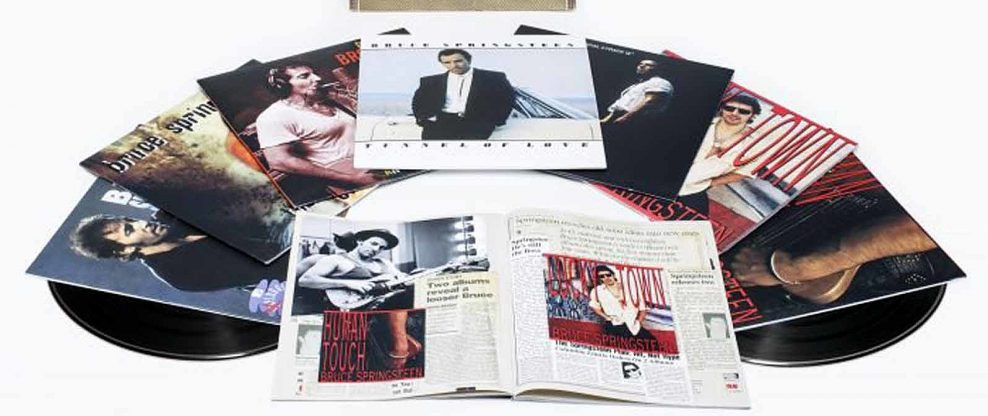 Bruce Springsteen: The Album Collection Vol. 2, 1987-1996, Limited-Edition Numbered Boxed Set Out May 18