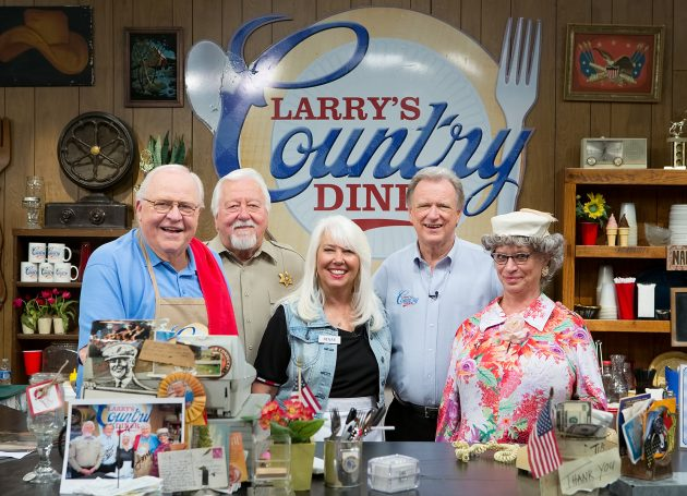 Exclusive: Larry's Country Diner Hits The Road