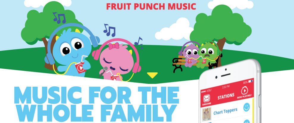 Announcing Fruit Punch Music – It's Basically Spotify For Kids