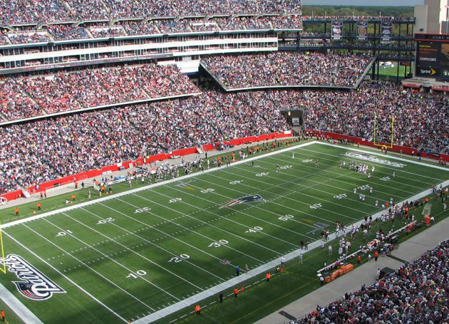 The Patriots Go Digital With Ticketmaster At Gillette Stadium
