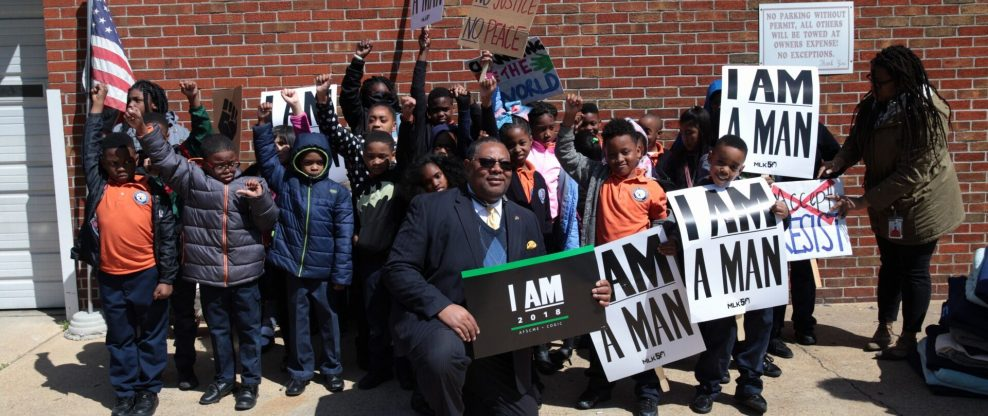 MLK Event In Memphis: Exclusive Photos