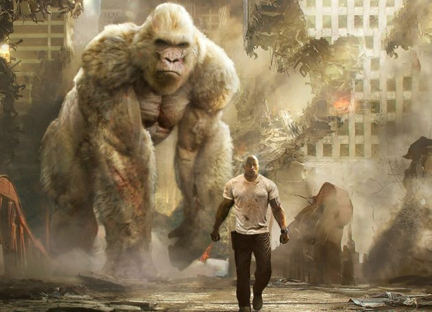 The Rock Continues His Box Office 'Rampage'