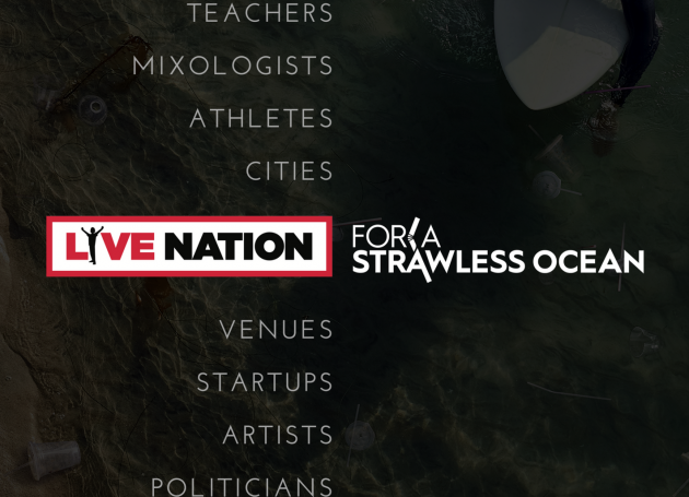 Live Nation: Get Those Plastic Straws Outta Here