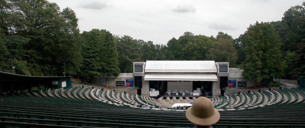 Chastain Park Amph. Now State Bank Amphitheatre At Chastain Park