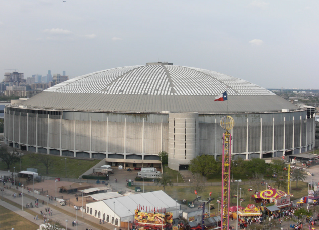 Houston Has Its Domecoming Party Prior To Astrodome Overhaul