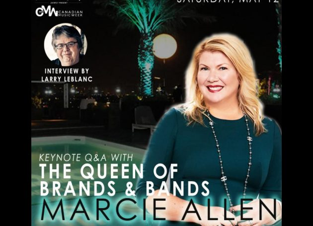 Larry LeBlanc To Interview Marcie Allen For Canadian Music Week Keynote