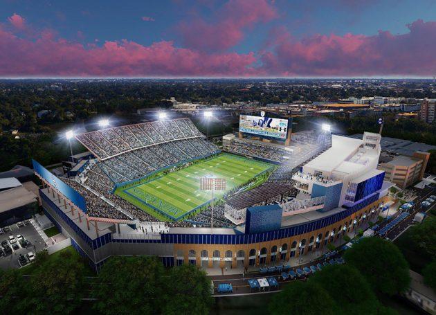 Old Dominion's S.B. Ballard Stadium To Receive Major Refurb