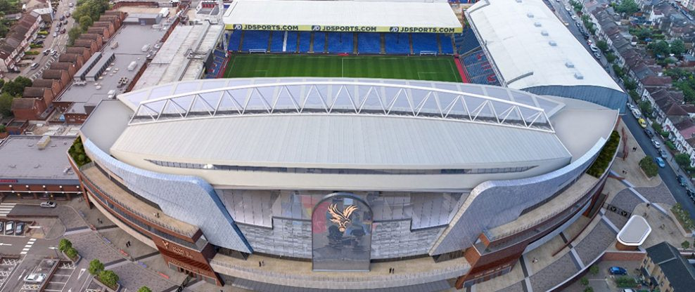 Selhurst Park Provides An Aerial View Of Proposed Redevelopment Plans