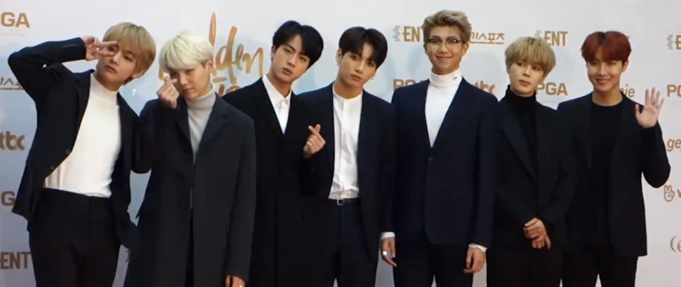BTS Becomes First K-Pop Band To Top Billboard 200