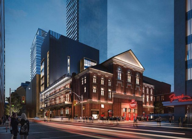 Government Of Canada Announces Investment Into Historic Venue Massey Hall