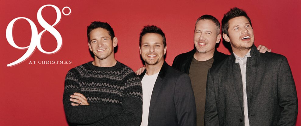 98 Degrees To Hit The Road For The Holidays