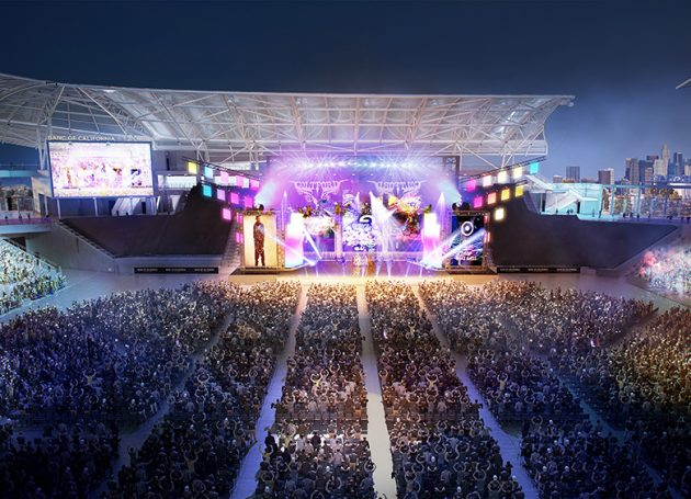 LAFC Sports Launches Live Entertainment Division At Banc Of California Stadium Entertainment