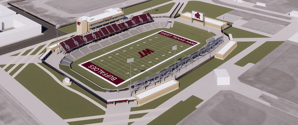 West Texas A&M Breaks Ground On New Stadium