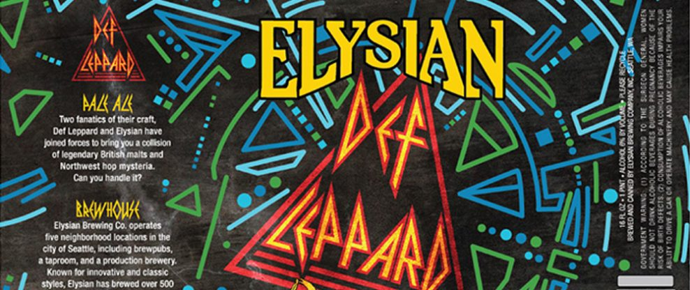 Def Leppard Teams With Seattle-Based Brewery To Release 'Def Leppard Pale' Ale