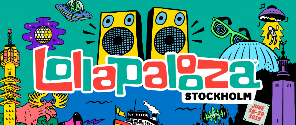 Lollapalooza Expands Global Family With Addition of Lollapalooza Stockholm 2019