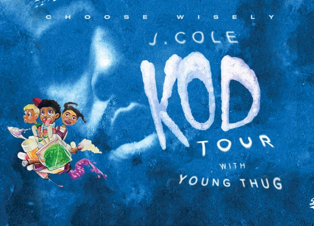 J. Cole Hits The Road In Support of <i>KOD</i>
