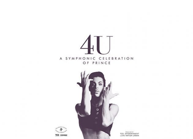 "Live Nation Urban & TCG Entertainment Announce ""4U: A Symphonic Celebration of Prince"" European Tour Dates"