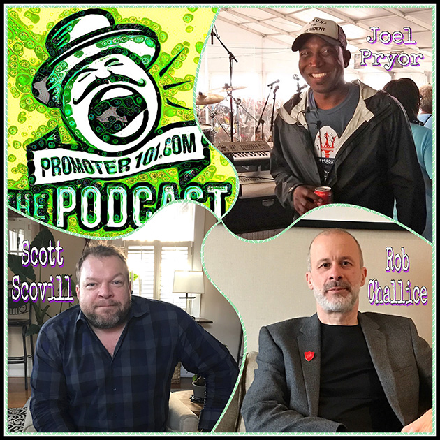 Episode #83: Coda's Rob Challice, MooTV's Scott Scovill, Stage Manager Joel Pryor
