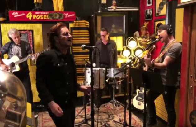 U2 Visits Third Man Records' Nashville Headquarters To Serve Up New Live Recordings