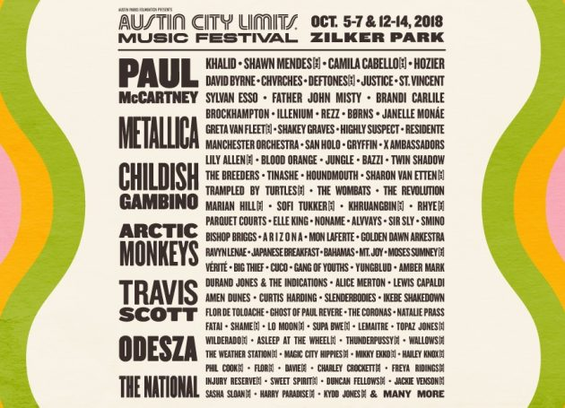 Austin City Limits Lineup Announced
