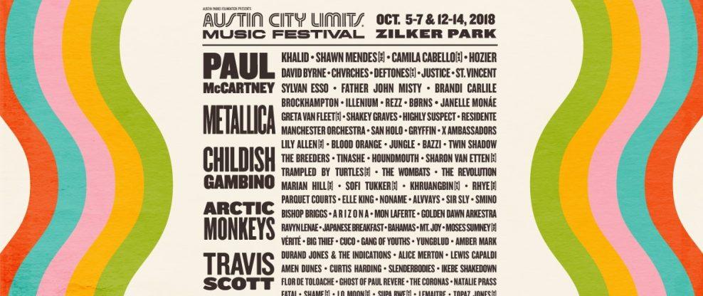 Austin City Limits Lineup Announced