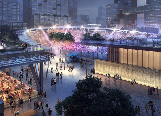 Live Nation To Build Multiple-Venue District In Chicago