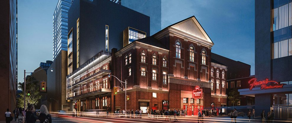 Massey Hall To Throw A Birthday Party Before It Goes Dark For Refurb