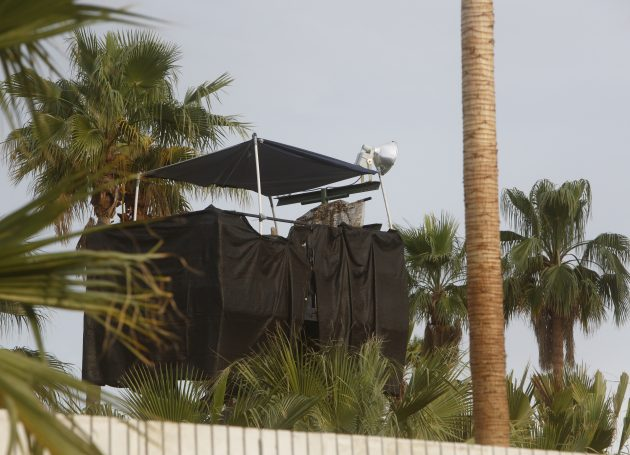 Photo From Coachella Shows Snipers Nest