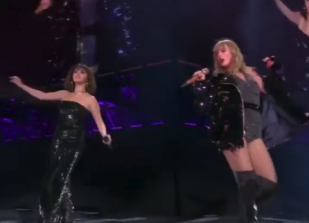 Selena Gomez Joins Swift For Rose Bowl Show