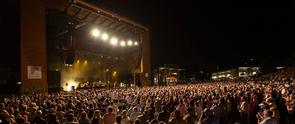 Tuscaloosa Extends Management Deal With Red Mountain Over Tuscaloosa Amphitheater
