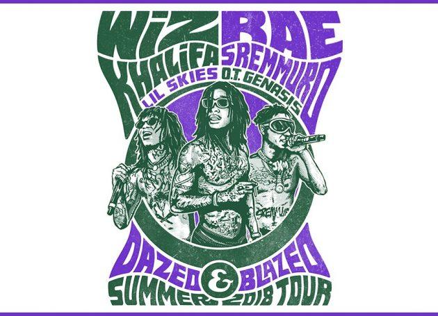 Wiz Khalifa & Rae Stremmurd Announce Co-Headlining Shed Tour