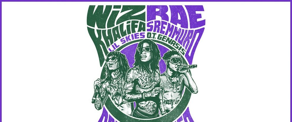 Wiz Khalifa & Rae Stremmurd Announce Co-Headlining Shed Tour