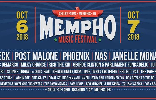 Mempho Music Festival Announces 2018 Lineup