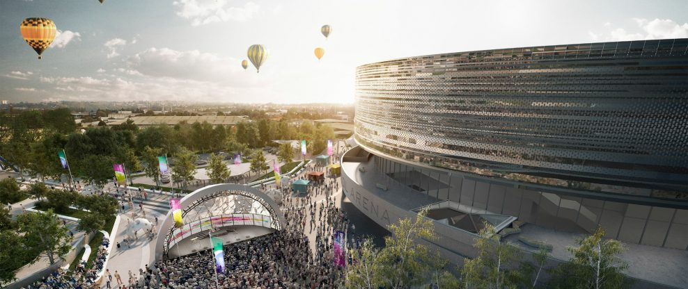 England's Bristol Arena On Budget