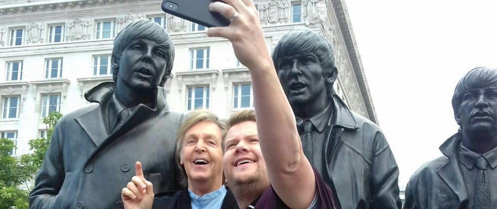 McCartney & Corden's 'Carpool Karaoke' To Be An Hour-Long Special