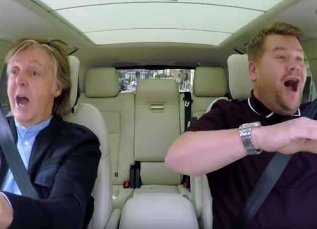 It's Happening! Sir Paul McCartney To Feature On This Week's Episode Of Carpool Karaoke With James Cordon